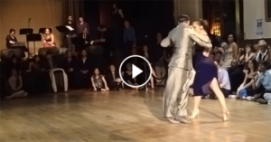 Maximiliano Cristiani & Juliana Maggioli at England International Tango Festival 2015