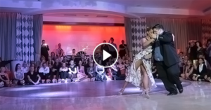 Tango performace by Alejandra Mantinan & Aoniken Quiroga at Canary Islands Tango Festival