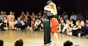 Noelia Hurtado & Oliver Koch at the Brussels Tango Festival 2015