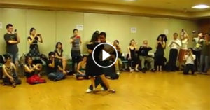 Tango workshop from the Tokyo Tango Festival