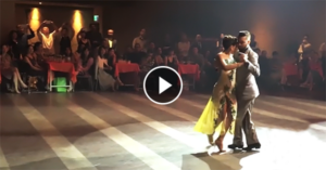 Javier & Fátima dance milonga at the 2016 XIV Taipei Tango Festival