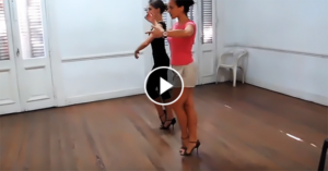 Tango women technique by Paula Franciotti