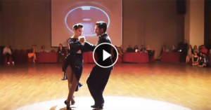 Tango performance by Sol Cerquides & Fernando Gracia