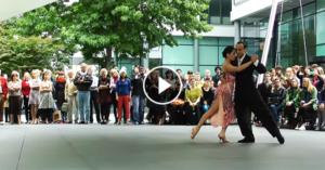 Tango performance by Maximiliano Cristiani & Fatima Vitale in London