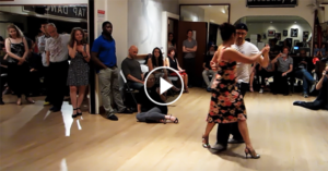 Tango Lesson by Homer and Cristina Ladas, Continuous Back Sacadas
