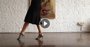 Argentine tango lesson front walk by Vanessa Gauch