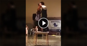 Tango performance on a small table
