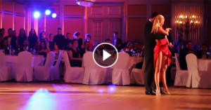 Tango performance by Kirill Parshakov & Anna Gudyno