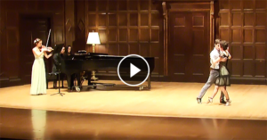 Tango performance by Curtis Burtner and Alexandra Carcich