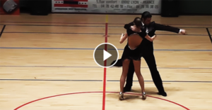 Tango performance by Matteo & Ludovica Antonietti