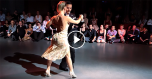 Tango performance by Sebastián Arce and Mariana Montes