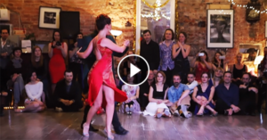 Mariano Chicho Frumboli and Juana Sepulveda tango performance in Moscow