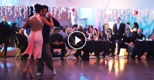 Gaston Torelli & Mariana Dragone tango dance in Moscow