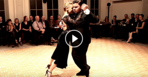 Tango performance by Melissa Sacchi & Cristian Palomo at Ghent Tango Festival