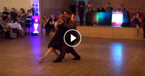 Michelle and Joachim at Toronto Tango Festival 2017