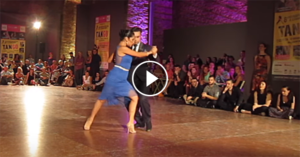 Jonathan Saavedra & Clarisa Aragon at the 8th European Tango Festival