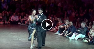 Milonga by Christian and Virginia at Brussels