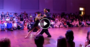 Anibal & Valeria at the Brussels Tango Festival 2017