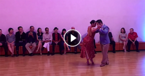 Virginia Pandolfi & Jonatan Aguero Tango Performance